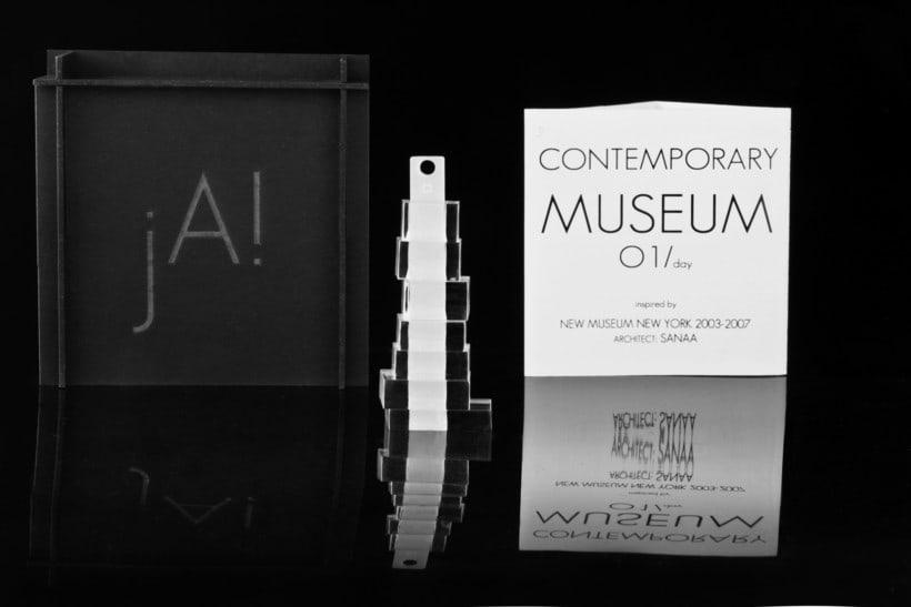Proyecto joyería inspirada en Ludwig Mies van der Rohe de Ja-Made design 5