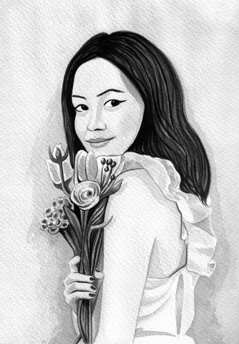 Mi Proyecto del curso: Introducción a la ilustración con tinta china 0