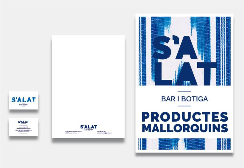 S'ALAT Bar i Botiga / Branding / Identidad Visual / Packaging 0