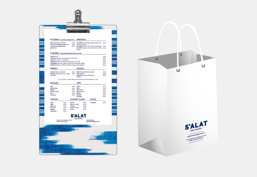 S'ALAT Bar i Botiga / Branding / Identidad Visual / Packaging 1