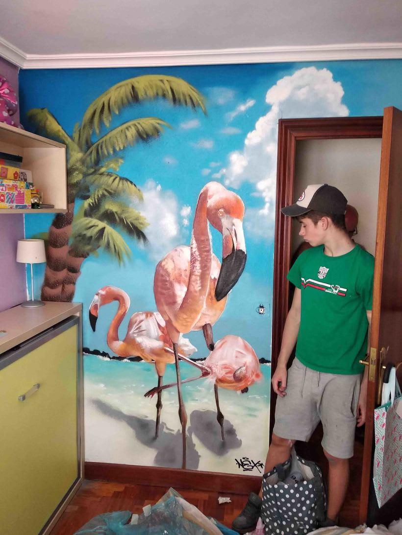 Flamingo Surprise -1