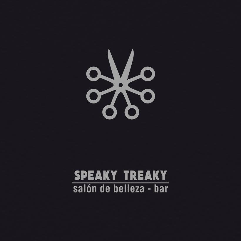 SPEAKY TREAKY - Brand Identity 0