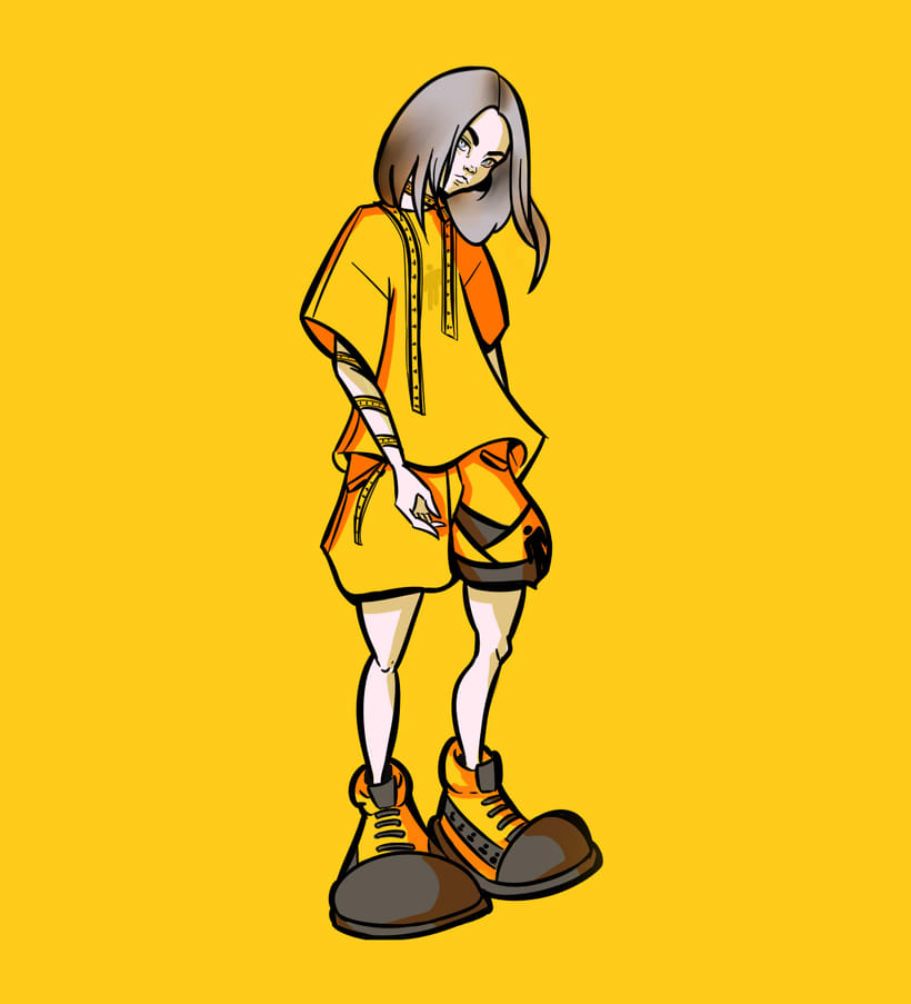 Ilustración y diseño de personajes -1