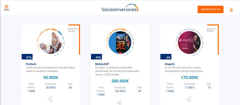 Web SociosInversores.com 2