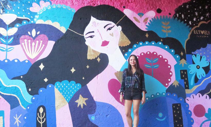 Mural Mercado Gastronómico  -1