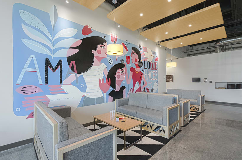 MaryKay Mural 0