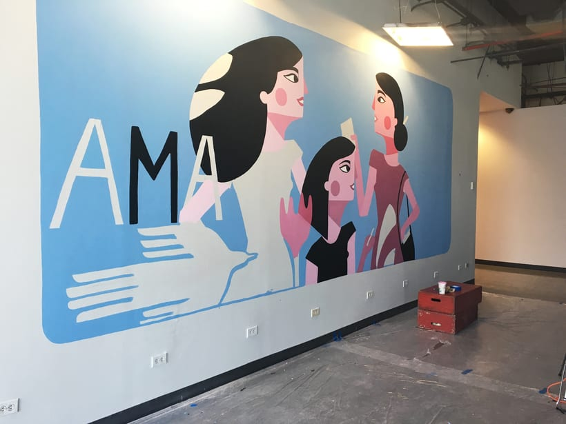 MaryKay Mural 1
