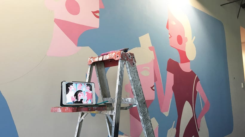 MaryKay Mural 2