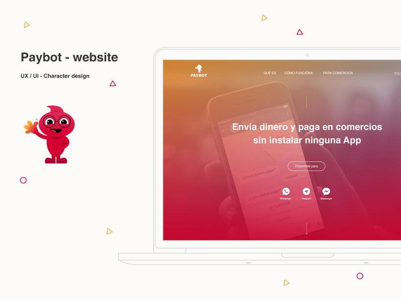 Website & Character design -1