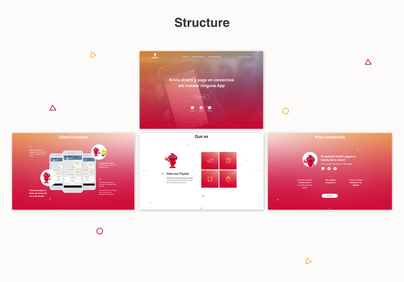 Website & Character design 0
