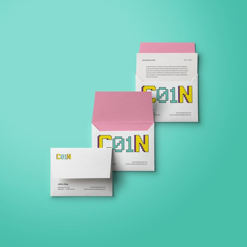 C01N. Diseño de logotipo e identidad corporativa.  1