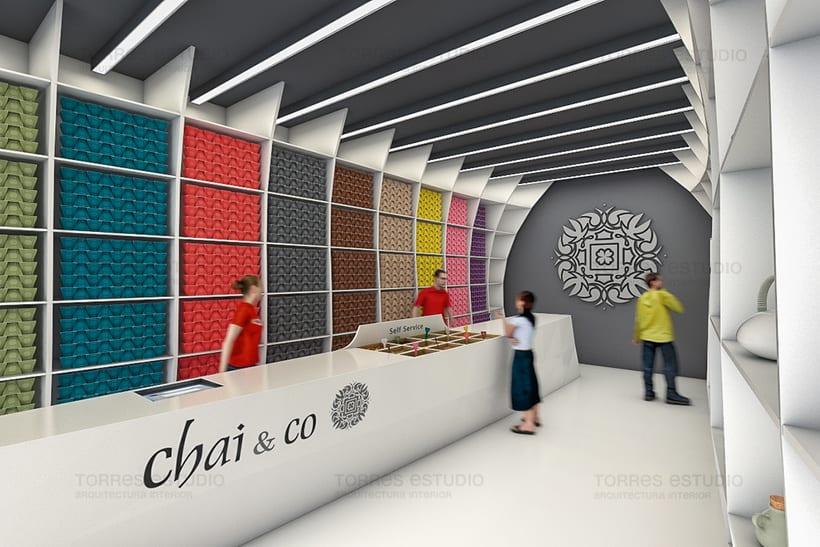 Arquitectura e Imagen corporativa para Chai&CO 1