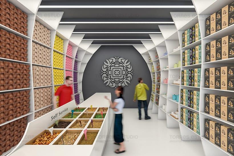 Arquitectura e Imagen corporativa para Chai&CO 2
