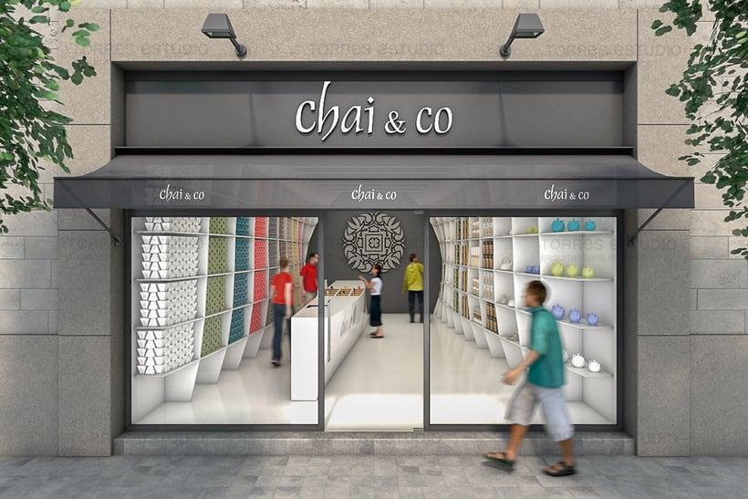 Arquitectura e Imagen corporativa para Chai&CO 3