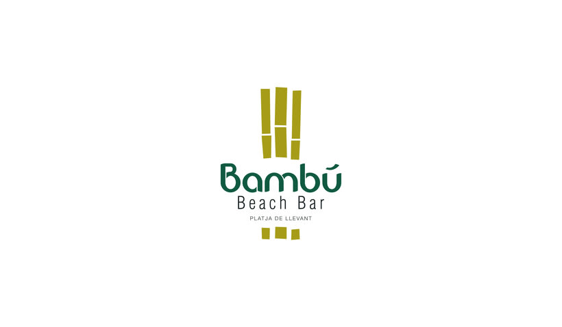 Bambú Beach Bar // Brand design 0