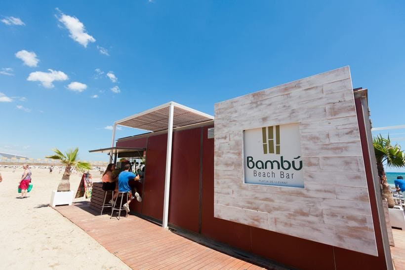 Bambú Beach Bar // Brand design 6