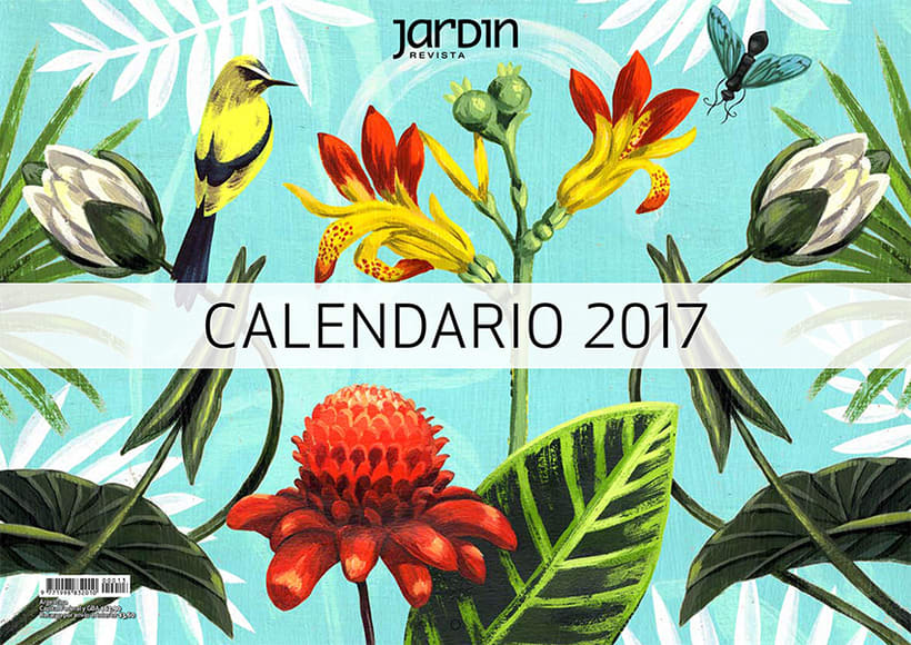 Calendario Revista Jardín 0
