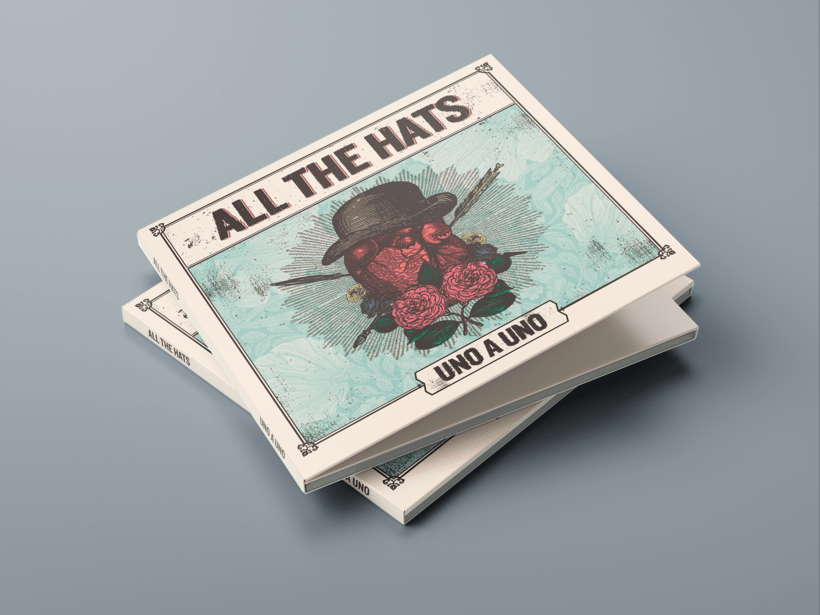 "Mi Proyecto del curso: Cartelismo ilustrado | All The Hats ""Uno a Uno"" 4"
