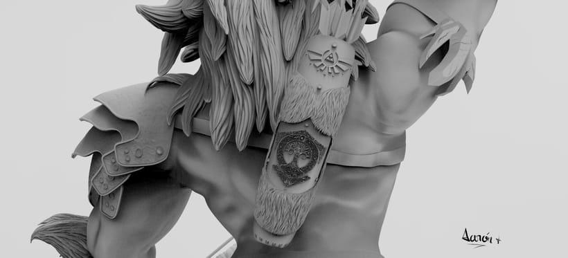 Escultura de centaleón 10
