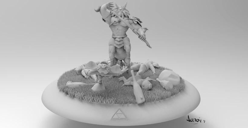 Escultura de centaleón 4