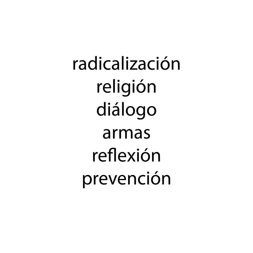 Cartel radicalización 2