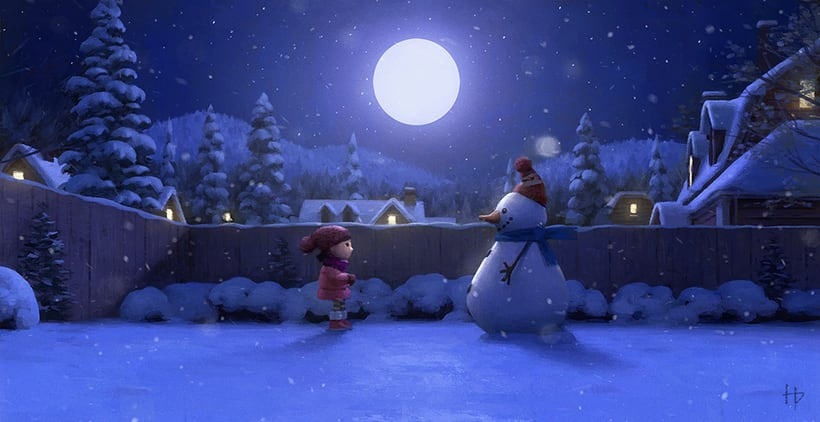 Cineplex Lily and the Snowman 8