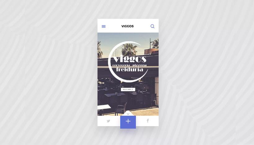 Diseño web: Restaurante Viggos 0