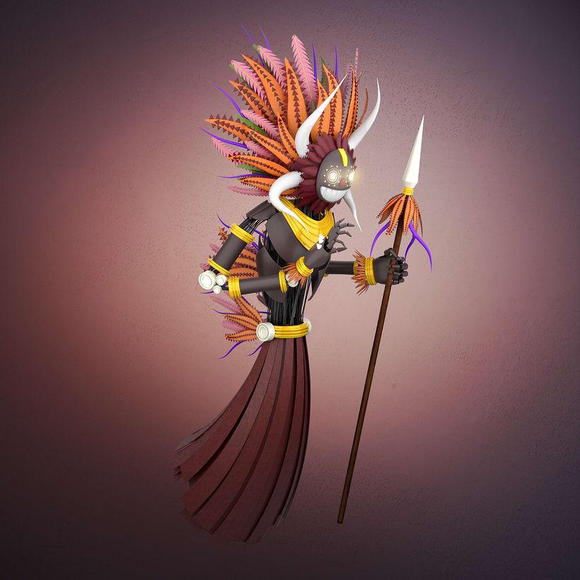 Mi Proyecto del curso: Modelado de personajes en Maya 2