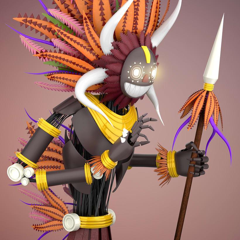 Mi Proyecto del curso: Modelado de personajes en Maya 0