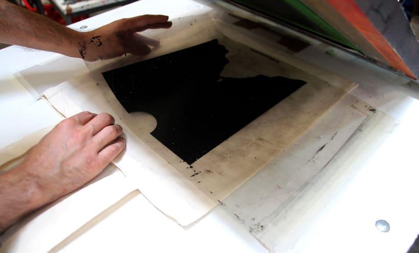 Estampación Tote Bags para el diseñador La Cabeza en las Nubes 6