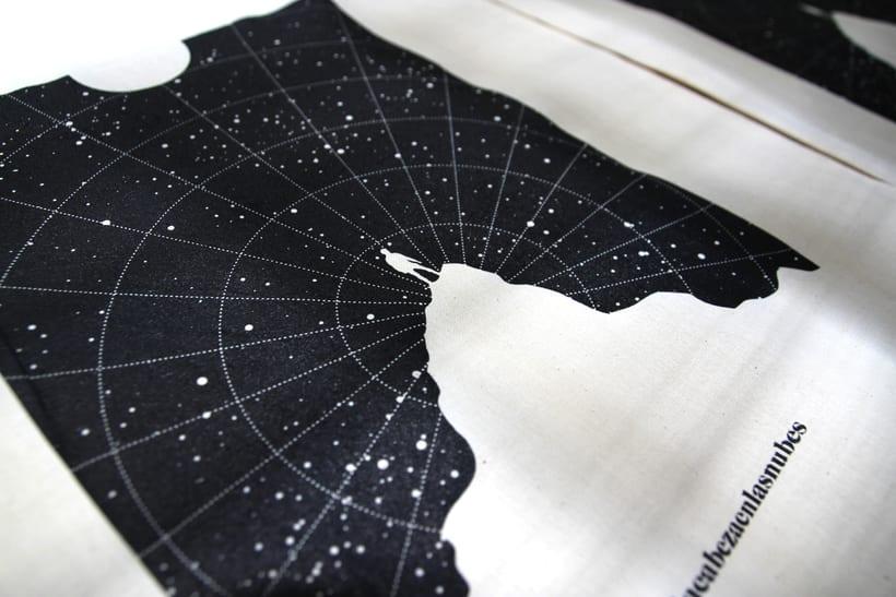 Estampación Tote Bags para el diseñador La Cabeza en las Nubes 13