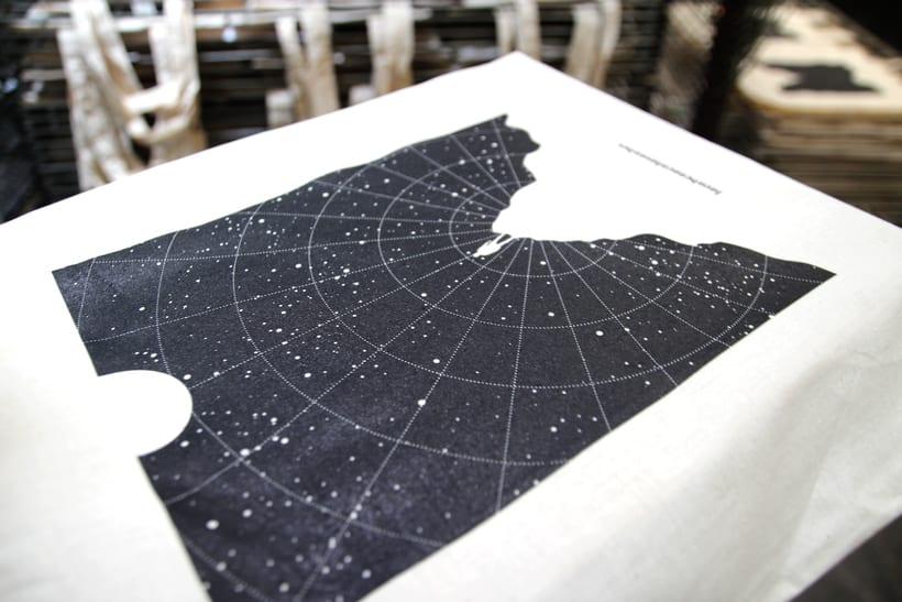 Estampación Tote Bags para el diseñador La Cabeza en las Nubes 14