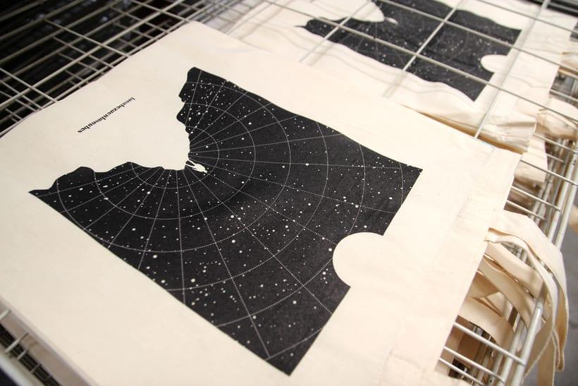 Estampación Tote Bags para el diseñador La Cabeza en las Nubes 15