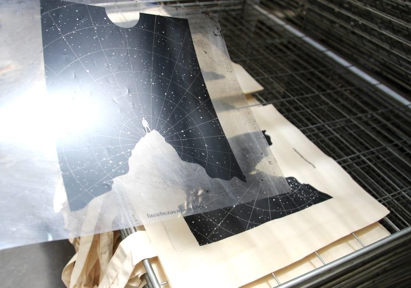 Estampación Tote Bags para el diseñador La Cabeza en las Nubes 19
