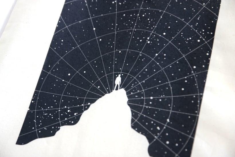 Estampación Tote Bags para el diseñador La Cabeza en las Nubes 26