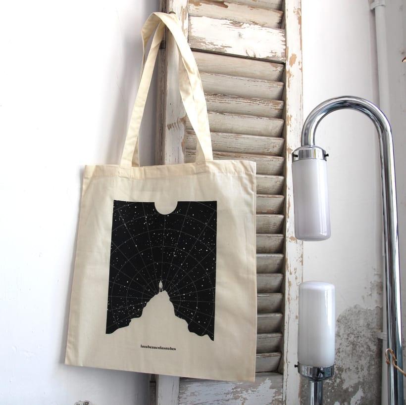 Estampación Tote Bags para el diseñador La Cabeza en las Nubes 29
