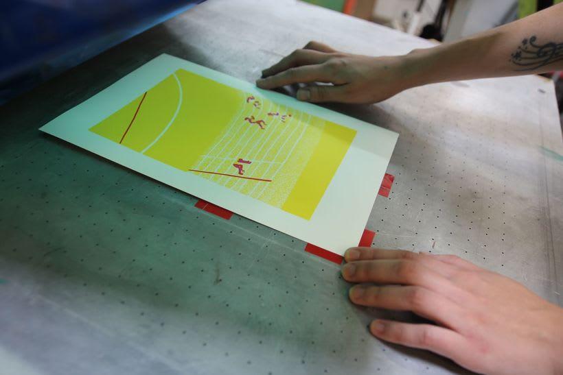 Estampación Lámina para la ilustradora Olga Capdevila  13