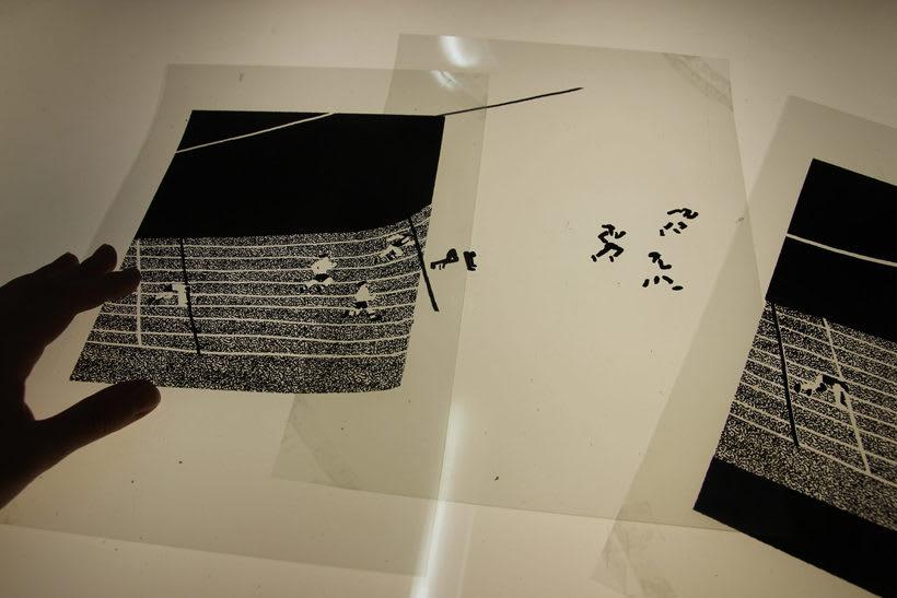 Estampación Lámina para la ilustradora Olga Capdevila  8