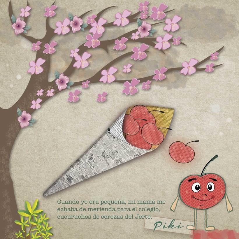 cucurruchos de cerezas 0