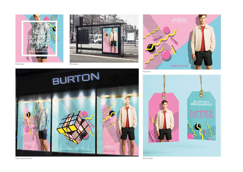Burton's - Summer Season Collection -1