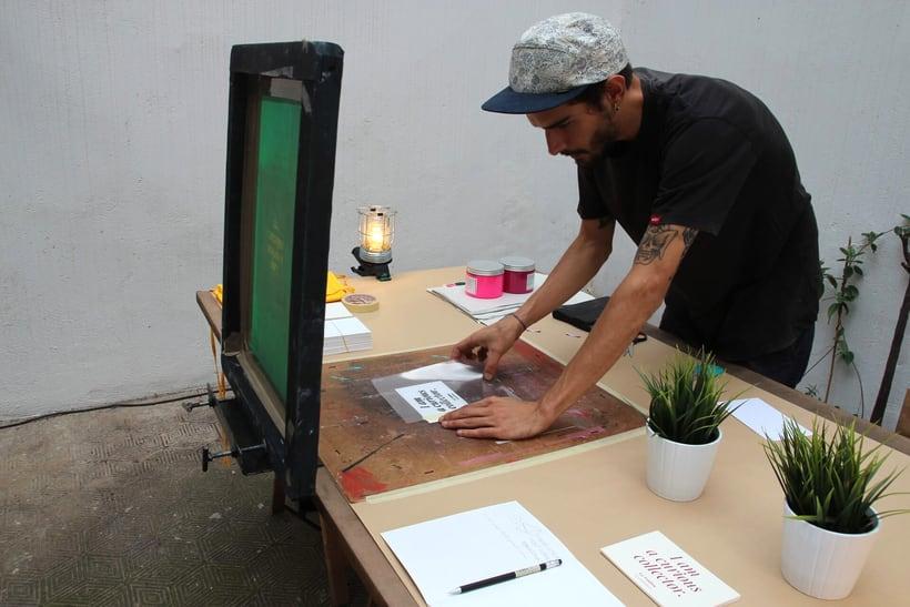 Demo Print en la Galería Cromo de la mano de Le Timbre 4