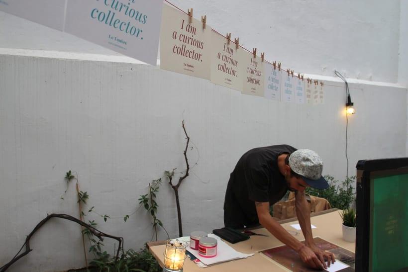 Demo Print en la Galería Cromo de la mano de Le Timbre 5