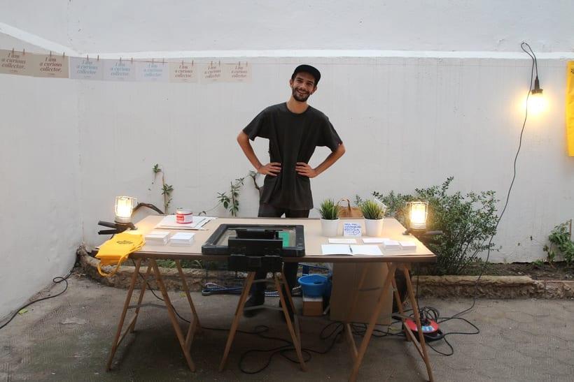 Demo Print en la Galería Cromo de la mano de Le Timbre 9