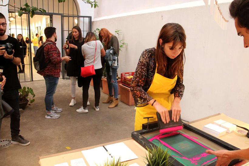 Demo Print en la Galería Cromo de la mano de Le Timbre 13