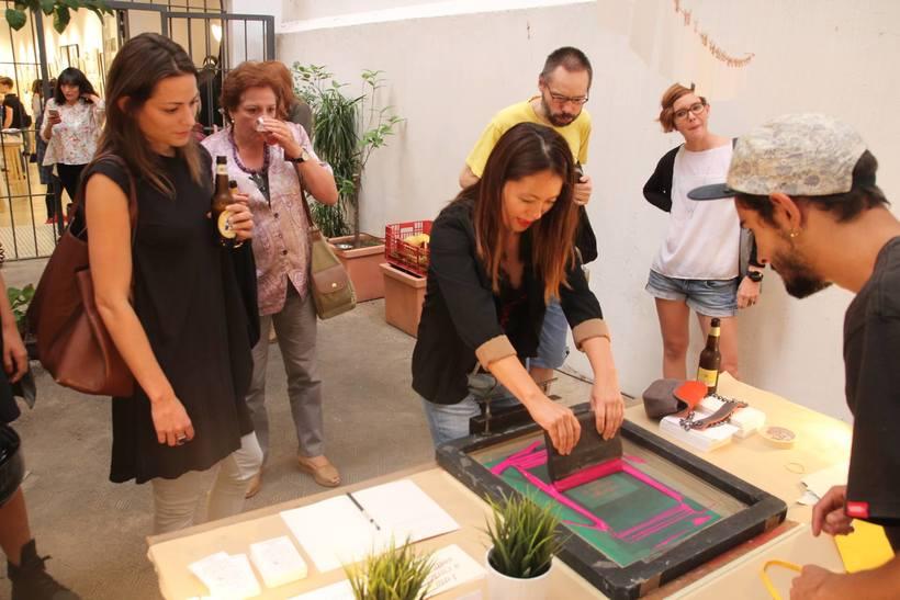 Demo Print en la Galería Cromo de la mano de Le Timbre 14