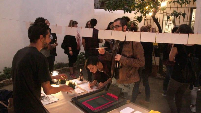 Demo Print en la Galería Cromo de la mano de Le Timbre 15