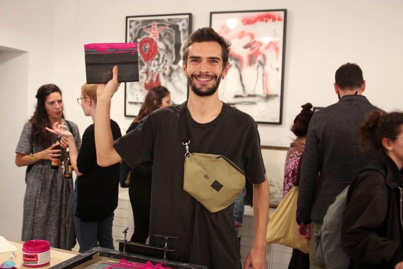 Demo Print en la Galería Cromo de la mano de Le Timbre 21