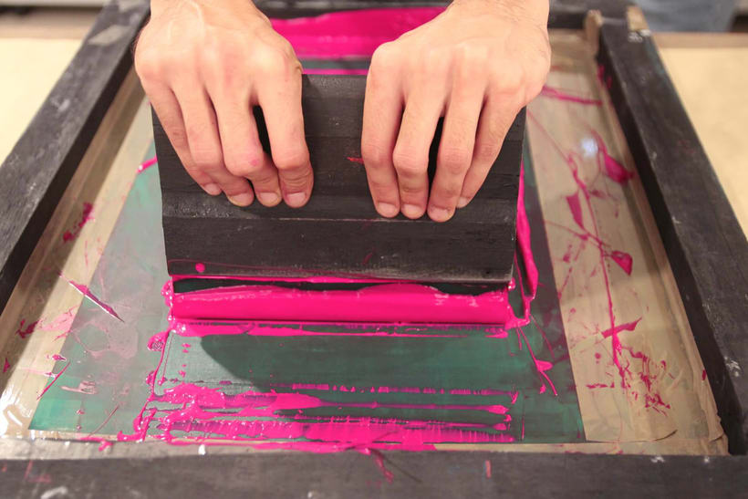 Demo Print en la Galería Cromo de la mano de Le Timbre 25