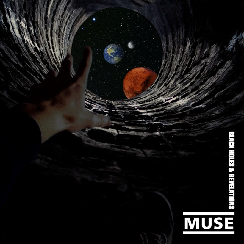 Recreación del álbum ''Black Holes and Revelations'' de Muse 0