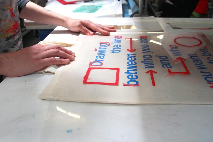 Estampación Tote Bags para el Aniversario del estudio creativo Bonhomic 7